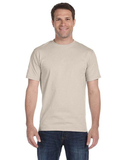 Gildan Adult 5.5 oz., 50/50 T-Shirt - Sand