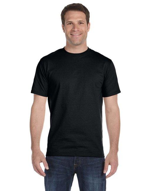 Gildan Adult 5.5 oz., 50/50 T-Shirt - Black