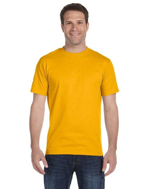 Gildan Adult 5.5 oz., 50/50 T-Shirt - Gold