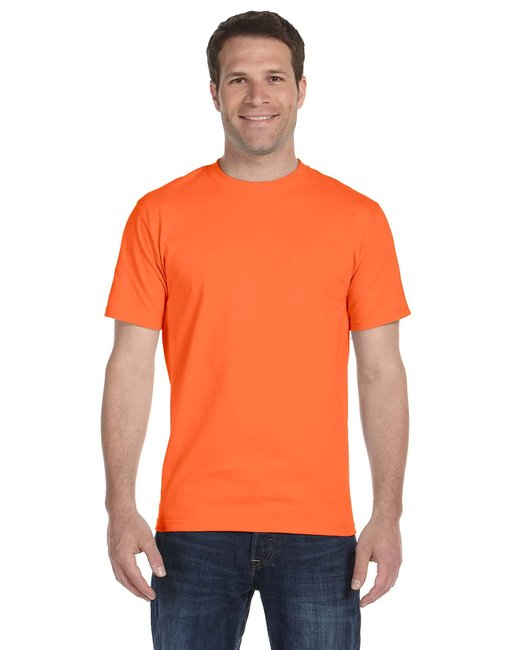 Gildan Adult 5.5 oz., 50/50 T-Shirt - Orange