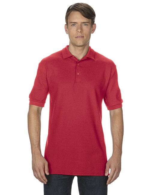 Gildan Adult Premium Cotton Adult 6.6oz. Double Piqu Polo - Red
