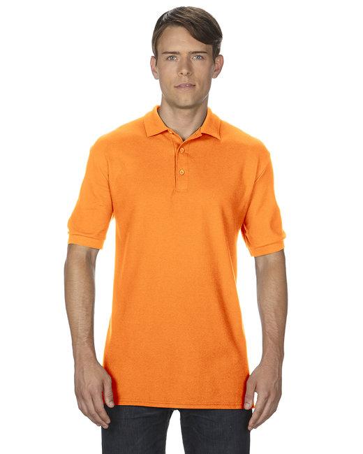 Gildan Adult Premium Cotton Adult 6.6oz. Double Piqu Polo - Tangerine