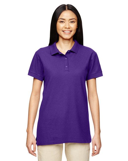 Gildan Ladies'  Premium Cotton Ladies' 6.6oz. Double Piqu Polo - Purple