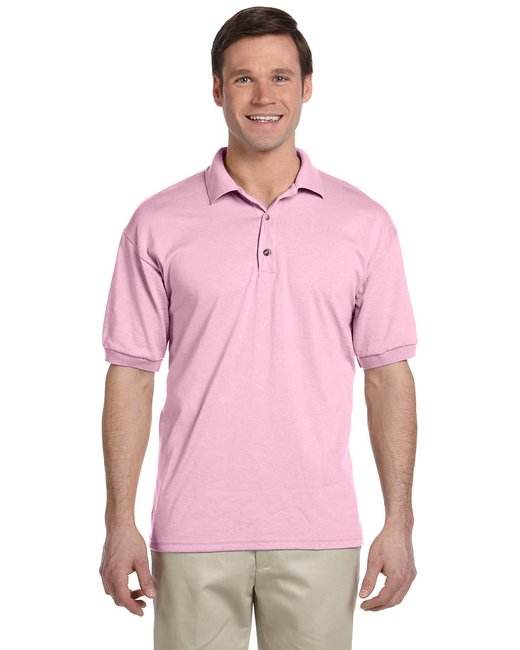 Gildan Adult 6 oz. 50/50 Jersey Polo - Light Pink