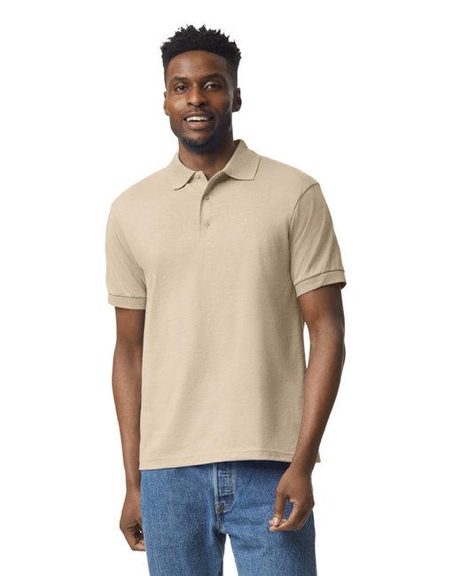 Gildan Adult 6 oz. 50/50 Jersey Polo - Sand