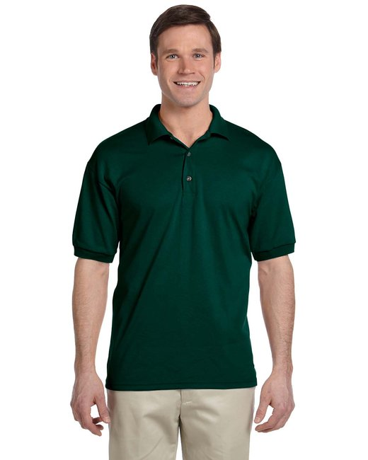 Gildan Adult 6 oz. 50/50 Jersey Polo - Forest Green