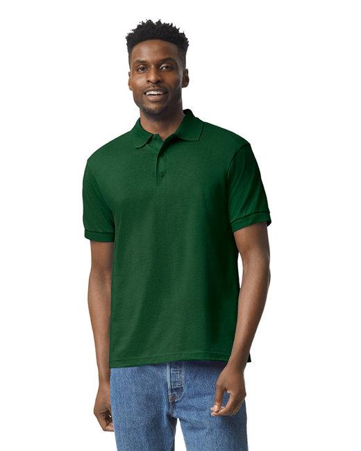 Gildan Adult 6 oz. 50/50 Jersey Polo - Forest Green