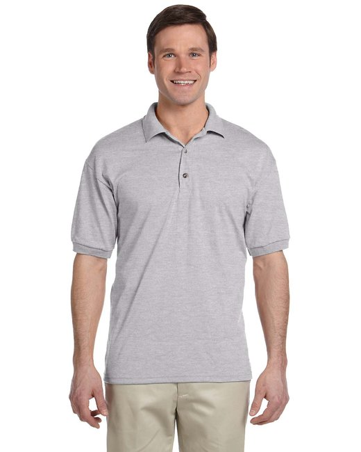 Gildan Adult 6 oz. 50/50 Jersey Polo - Sport Grey