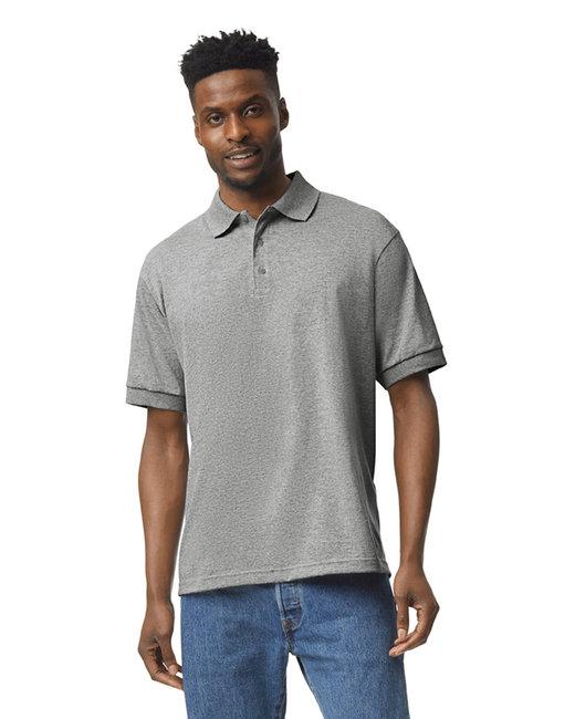 Gildan Adult 6 oz. 50/50 Jersey Polo - Sport Grey