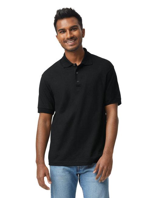 Gildan Adult 6 oz. 50/50 Jersey Polo - Black