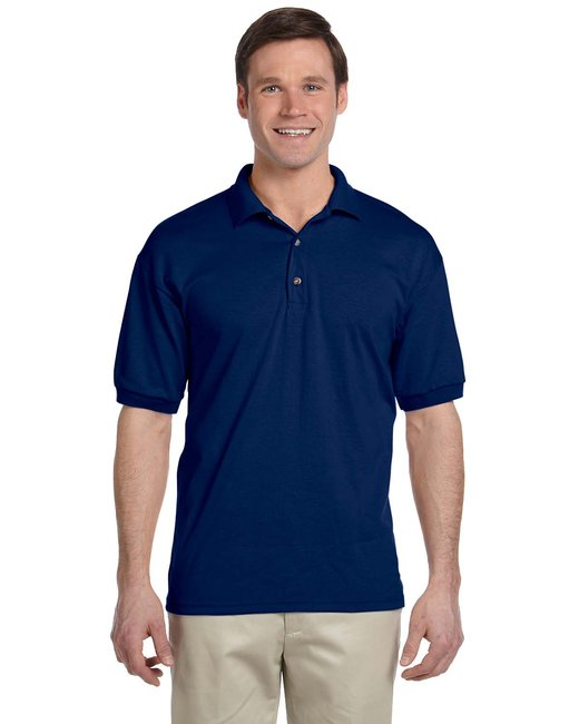 Gildan Adult 6 oz. 50/50 Jersey Polo - Navy