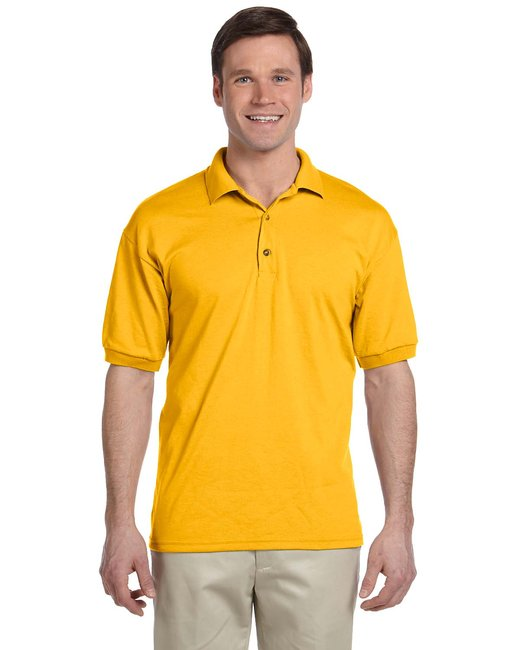 Gildan Adult 6 oz. 50/50 Jersey Polo - Gold