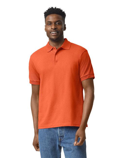 Gildan Adult 6 oz. 50/50 Jersey Polo - Orange