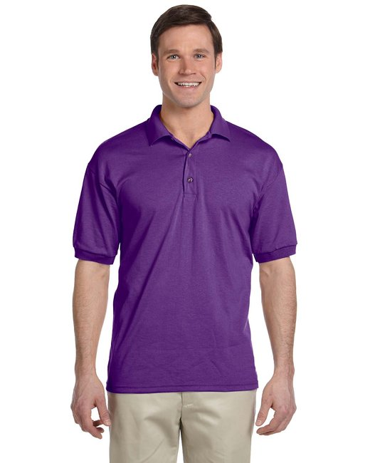 Gildan Adult 6 oz. 50/50 Jersey Polo - Purple