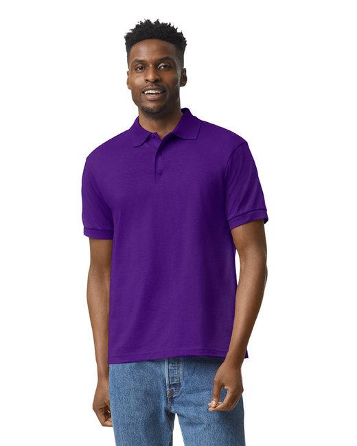 Gildan Adult 6 oz. 50/50 Jersey Polo - Purple