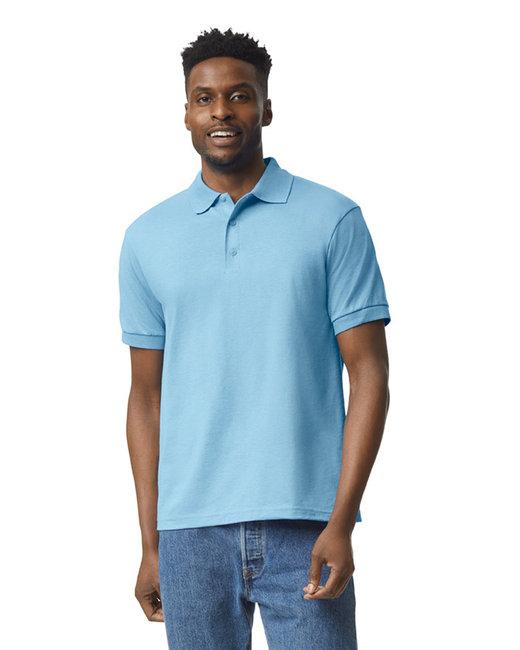 Gildan Adult 6 oz. 50/50 Jersey Polo - Light Blue