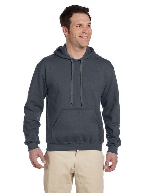 Gildan Adult Premium Cotton Adult 9 oz. Ringspun Hooded Sweatshirt - Charcoal