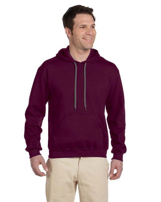 Gildan Adult Premium Cotton Adult 9 oz. Ringspun Hooded Sweatshirt - Maroon