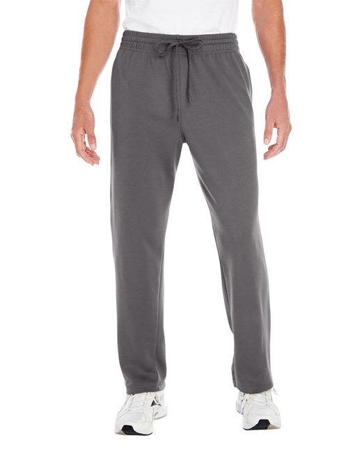 Gildan Adult Performance 7 oz. Tech Open-Bottom Sweatpants withPockets - Charcoal