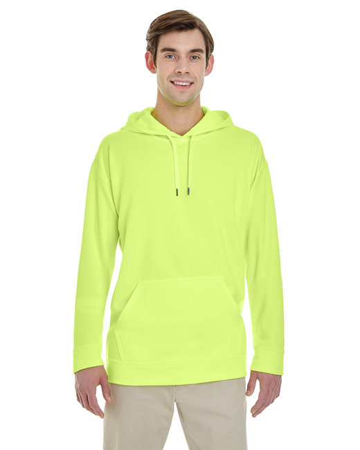 Gildan Adult Performance 7 oz. Tech Hooded Sweatshirt - Safety Green