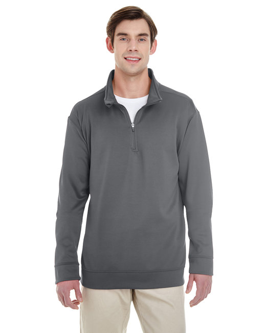 Gildan Adult Performance 7 oz. Tech Quarter-Zip Sweatshirt - Charcoal