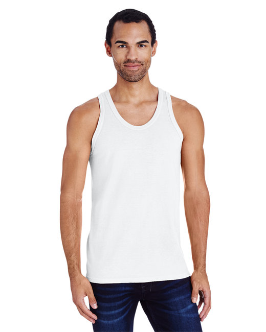 ComfortWash by Hanes Unisex 5.5 oz., 100% Ringspun Cotton Garment-Dyed Tank - White