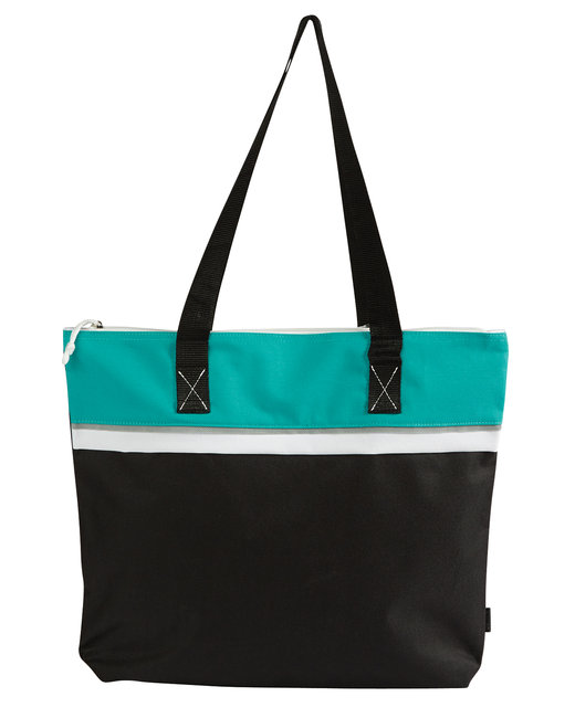 Gemline Muse Convention Tote - Turquoise