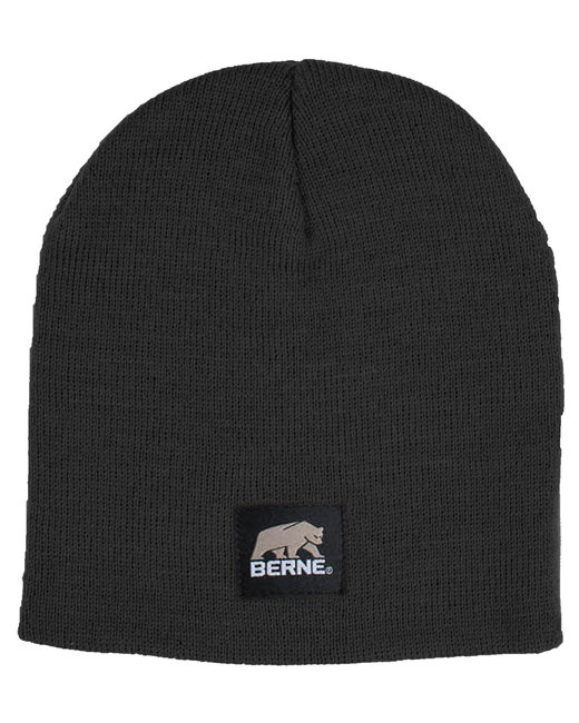 Berne Heritage Knit Beanie - Black