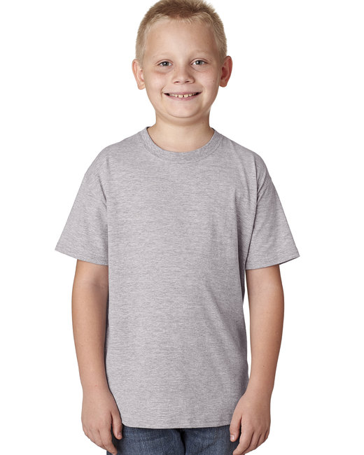 Hanes Youth 4.5 oz. X-Temp® Performance T-Shirt - Light Steel