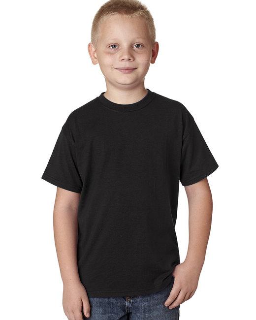 Hanes Youth 4.5 oz. X-Temp® Performance T-Shirt - Black