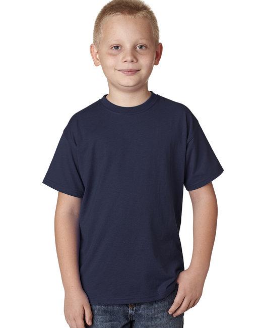 Hanes Youth 4.5 oz. X-Temp® Performance T-Shirt - Navy