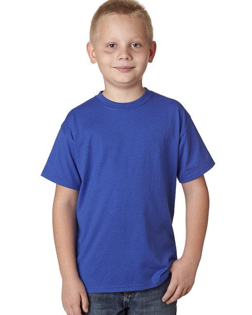 Hanes Youth 4.5 oz. X-Temp® Performance T-Shirt - Deep Royal