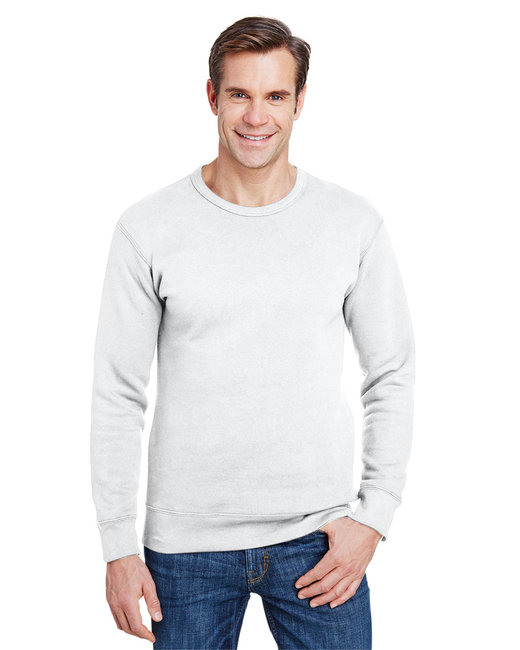 Gildan Hammer Adult 9 oz. Crewneck Sweatshirt - White