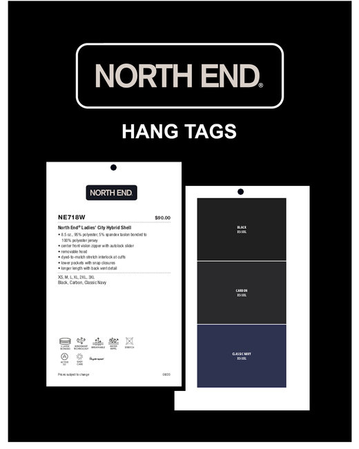 HTAGNR Marketing Tools- North End Sport Red Hangtags