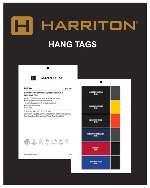 HTHTAG Marketing Tools- Harriton Hang Tags