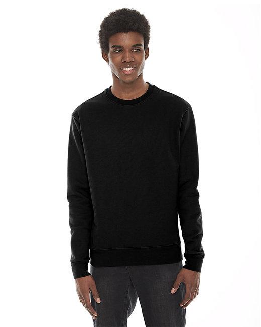 American Apparel Unisex Classic Crew Sweatshirt - Black