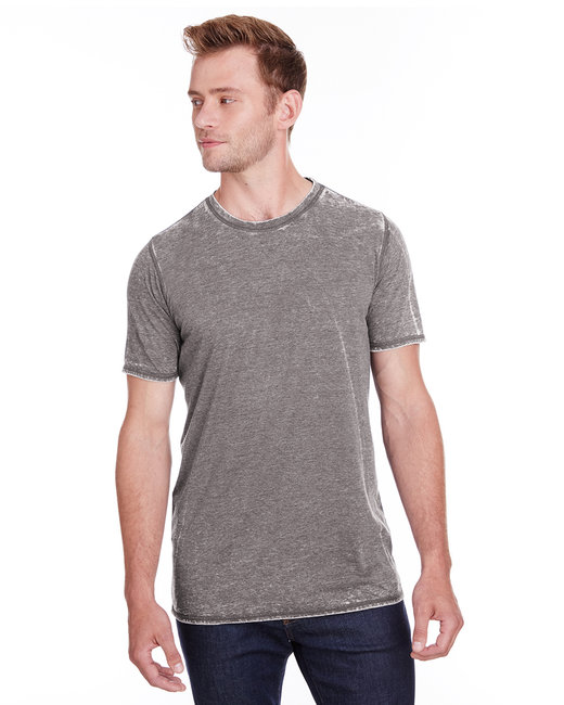 J America Adult Vintage Zen Jersey T-Shirt - Cement