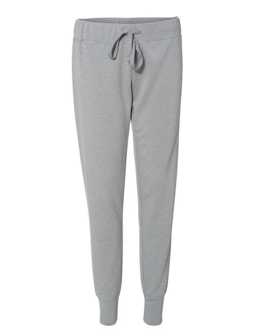 J America Ladies' Omega Stretch Pant - Silvr Gry Trblnd