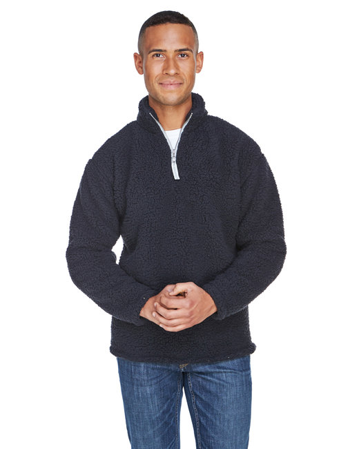 JA8454 J America Adult Epic Sherpa Quarter-Zip
