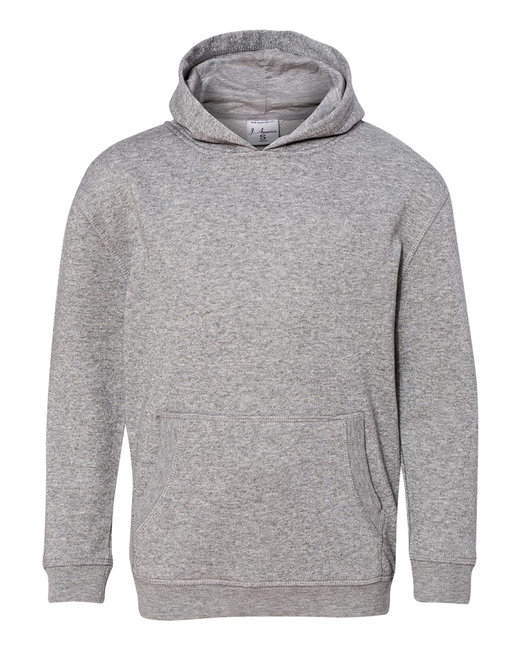 J America Youth Glitter French Terry Pullover Hood - Oxford