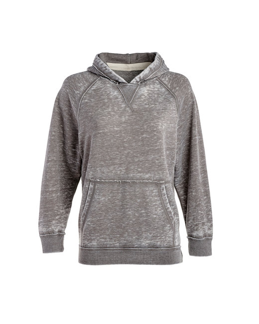 J America Youth Zen Pullover Hooded Sweatshirt - Cement