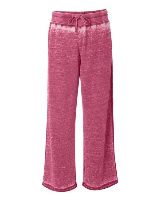 J America Ladies' Zen Pant - Wildberry