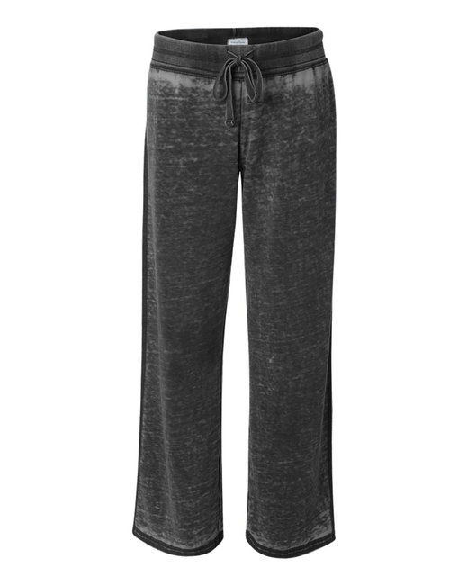 J America Ladies' Zen Pant - Twisted Black