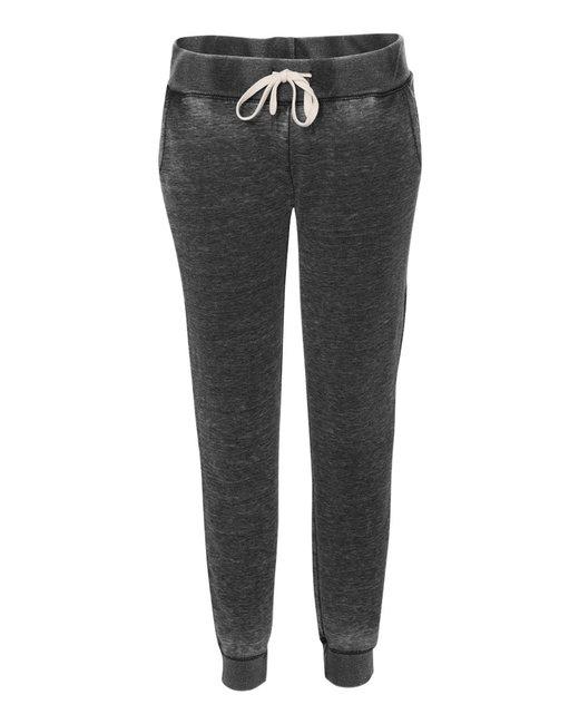 J America Ladies' Zen Jogger Pant - Twisted Black