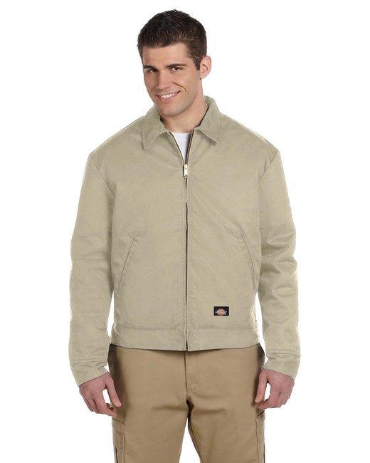 Dickies Men's 8 oz. Lined Eisenhower Jacket - Khaki