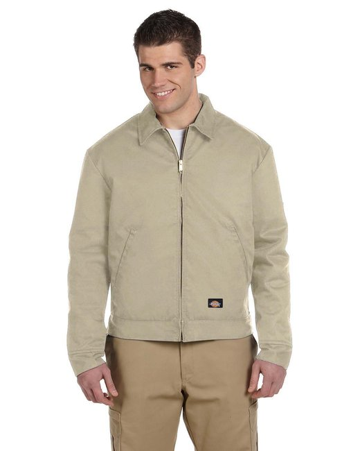 Dickies Men's 8 oz. Lined Eisenhower Jacket - Khaki
