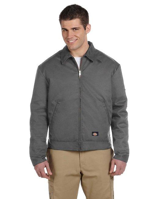 Dickies Men's 8 oz. Lined Eisenhower Jacket - Charcoal