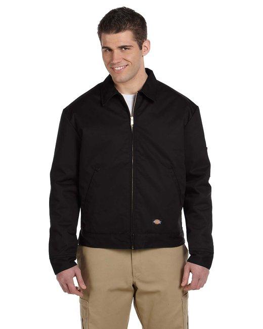 Dickies Men's 8 oz. Lined Eisenhower Jacket - Black
