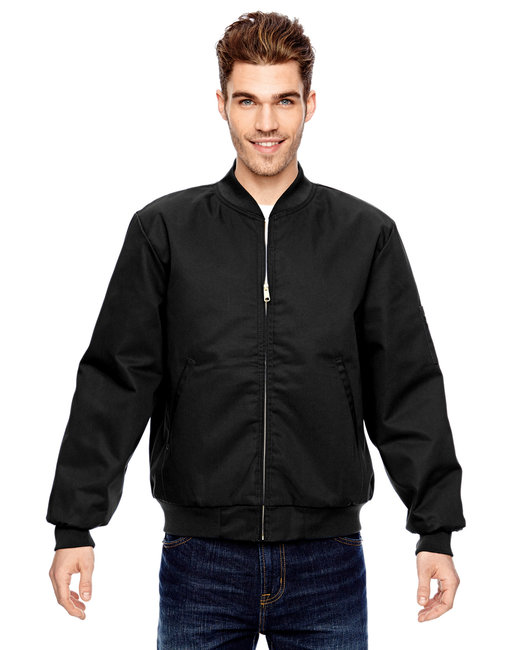 Dickies Men's 8 oz. Industrial Insulated Team Jacket - Black