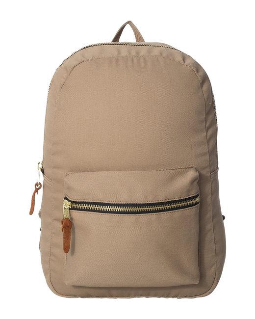Hardware Heritage Canvas Backpack  - Khaki